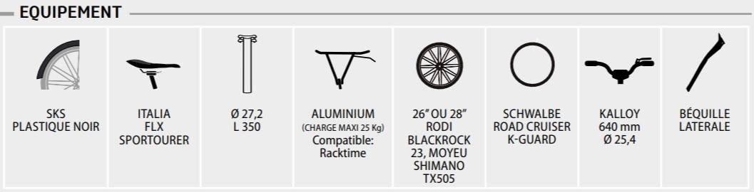 Neomouv elaia- moteur central bosh - équipements