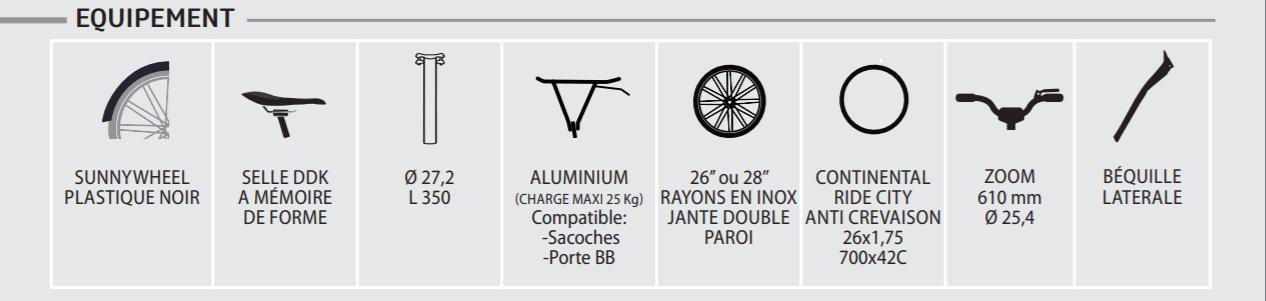 Neomouv carlina - équipements