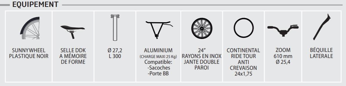 Neomouv facelia - équipements