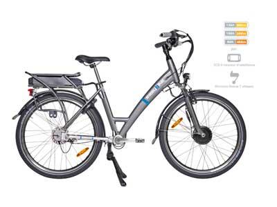 Puissance du vélo électrique