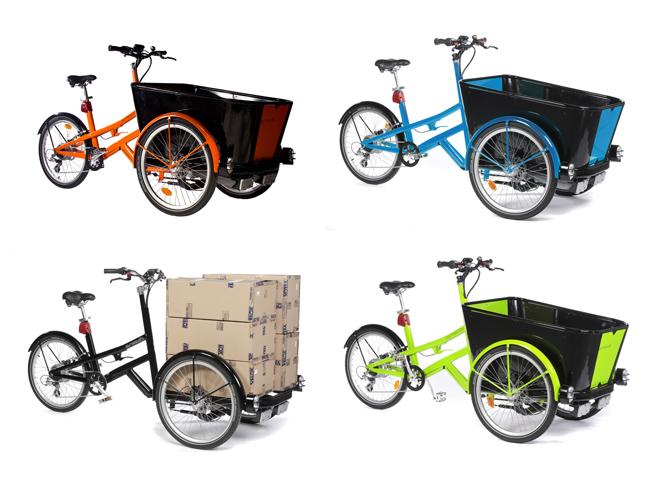 Coloris des vélos électriques pour professionnels